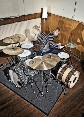 Drummer Bram Hakkens