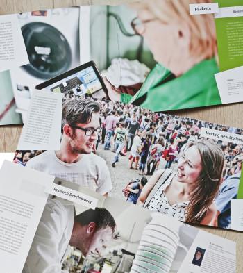 spreadfotografie voor jaarboek 2013 van Energy Academy Europe
