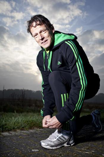 voormalig marathonloper Gerard Nijboer