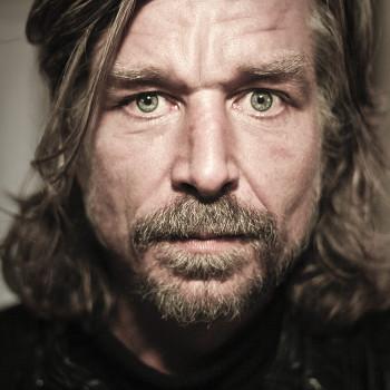 De Noors/Zweedse schrijver Karl Ove Knausgård