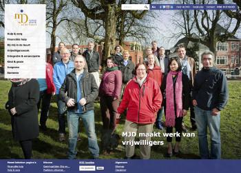 groep vrijwilligers MJD-Stiel Groningen
