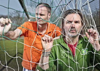 WK Voetbalshow van Meindert Talma en Herman Sandman