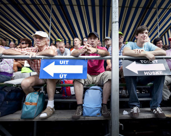 publiek bij PC, Franeker