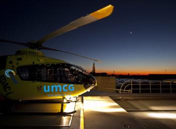 Traumaheli UMCG gaat nachtvluchten uitvoeren