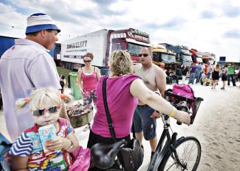 Truckstar Assen publiek BBQ
