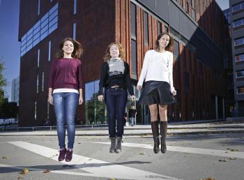 Russische masterstudenten in Groningen