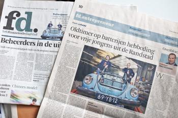 financieele dagblad, Rebbl uit Aduard
