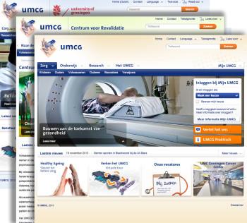 dragende fotografie voor corporate website UMCG Groningen en Beatrixoord