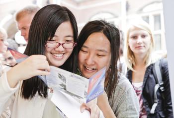 nieuwe lichting internationale studenten Groningen