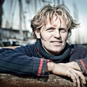 """schipper Klaas Bosch van """"Spes Mea"""""""