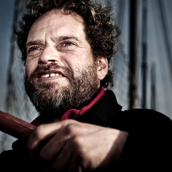 schipper Leo Euverman van 'Spes Mea Z'