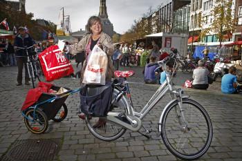Fietsers in Groningen 13