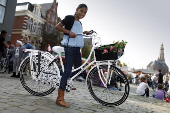 Fietsers in Groningen 12