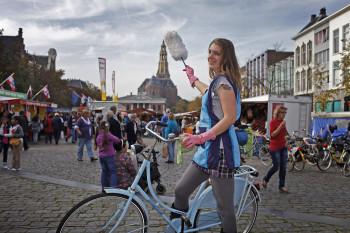 Fietsers in Groningen 9