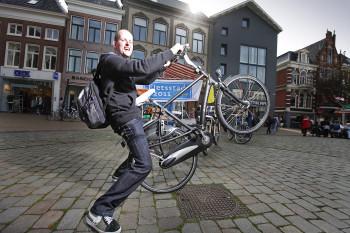 Fietsers in Groningen 8