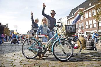Fietsers in Groningen 5