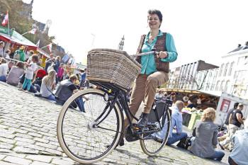 Fietsers in Groningen 4