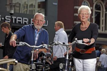 Fietsers in Groningen 3