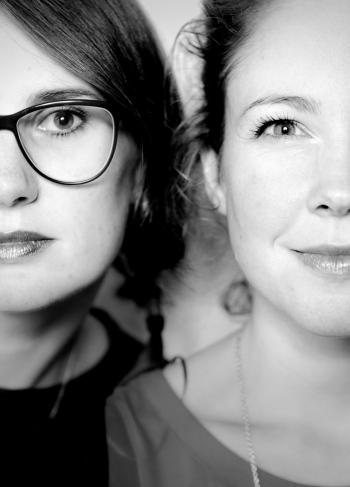 Schrijversduo Lieke van den Krommenacker en Ruth Koops van 't Jagt