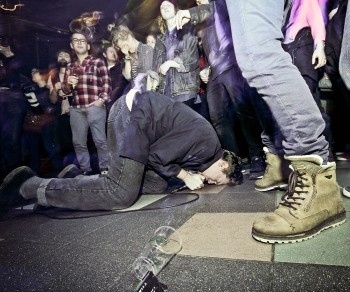 Punkband Bad Breeding op Eurosonic 2015