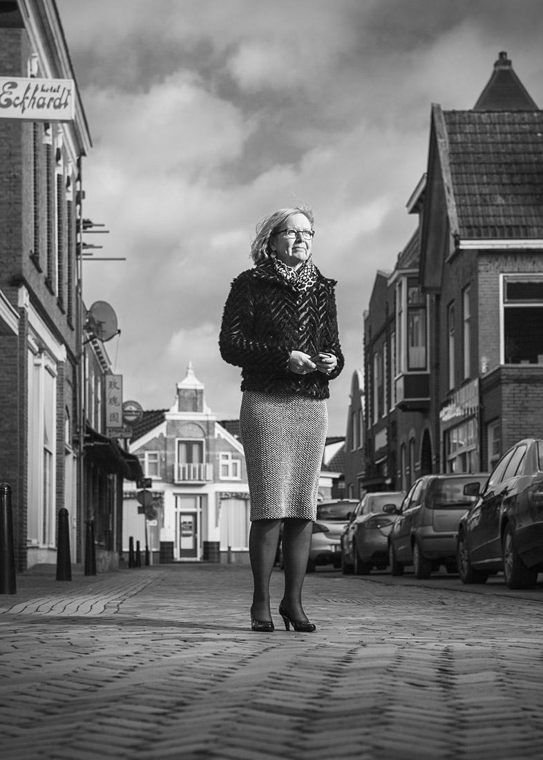 Marijke van Beek, burgemeester van Gemeente Eemsmond